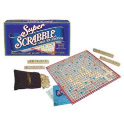 Super Scrabble Deluxe Edition