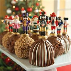 12 Days of Christmas Petite Chocolate Covered Apples