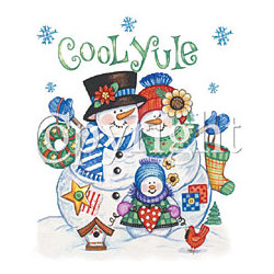 Cool Yule-Snowfamily T-Shirt