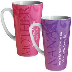 Wonderful Relationship Personalized Latte Mug