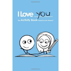 LoveBook Activity Book for Boy/Girl Couples