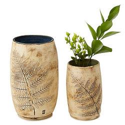 Handcrafted Fern Vase