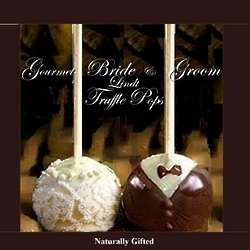 Bride and Groom Lindt Truffle Pop