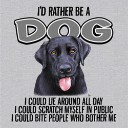 Rather Be A Dog T-Shirt