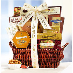 In Sympathy and Support Gift Basket