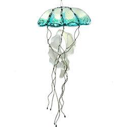Fused Glass Jellyfish Suncatcher