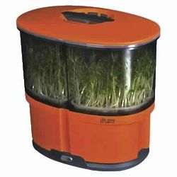 Orange iPlant Sprout Garden with Starter Seeds