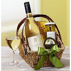 Sonoma Wine Country Escape Chardonnay Gift Basket