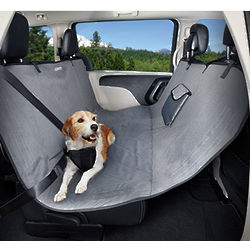 No-Fur Zone Hammock Dog Car Seat Cover
