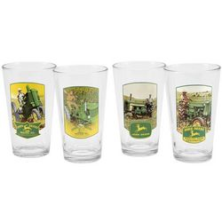 John Deere Pint Glasses Set
