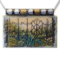 The Garden Gate Pendant