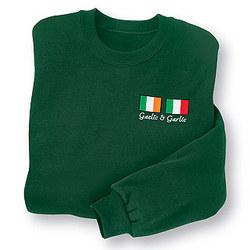 Gaelic and Garlic Sweatshirt