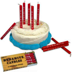 Dynamite Birthday Candles