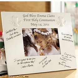 Personalized Communion/Confirmation Frame