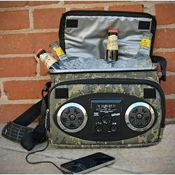Camo Chillin iPod Ready Radio Cooler