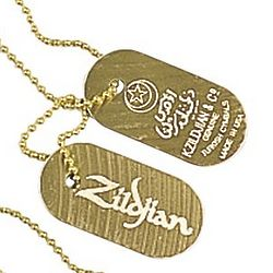 Zildjian Dog Tag