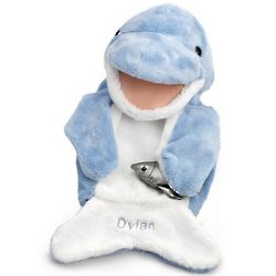 Dolphin Puppet with Fish