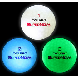 Twilight Super Nova Lighted Golf Balls