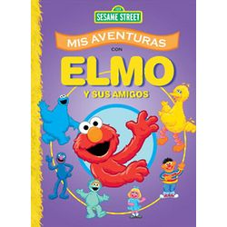 Personalized Elmo and Friends Spanish Story Book