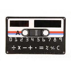 Solar Powered Cassette Tape Calculator