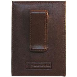 Alicante Brown Money Clip Wallet