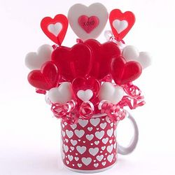 Hearts and Hugs Lollipop Bouquet