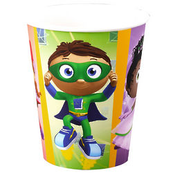 8 Super Why! Party Cups