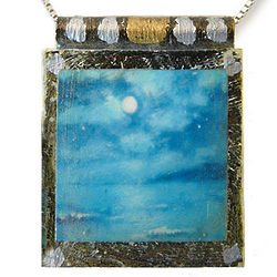 Night Ocean Necklace