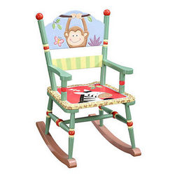 Safari Monkey Rocking Chair