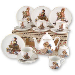 Giordano Antique Toy Porcelain Children's Tea Set