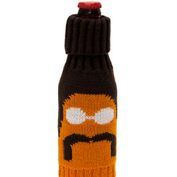 70s Stache Beer Bottle Cover