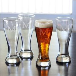 Engraved Pilsner Set