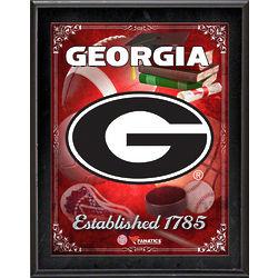 Georgia Bulldogs Sublimated Plaque