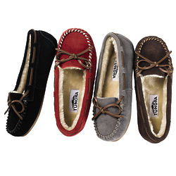 Women's Suede Madelyn Moccasins