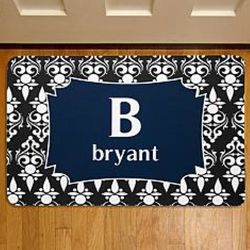 Name and Initial Personalized Doormat