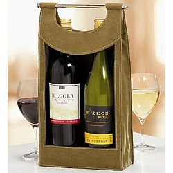 Red and White Australian Wines Tote