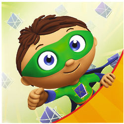 16 Super Why! Party Napkins