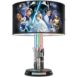 Star Wars Lightsaber Lamp with Illuminated Lightsabers Base