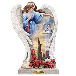Thomas Kinkade 15th Anniversary September 11th Angel Sculpture