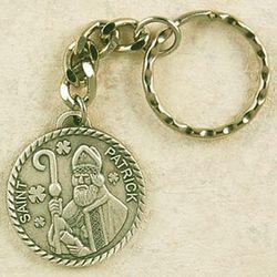 Pewter St. Patrick Keyring