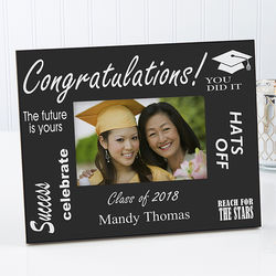 The Future is Yours Personalized Graduation Photo Frame