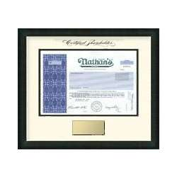 Nathan's Famous Stock Certificate