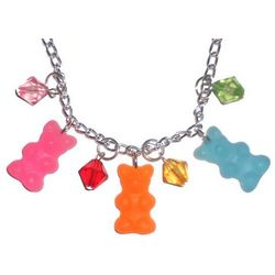 Gummi Bear Faux Candy Necklace