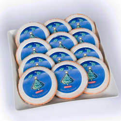 12 Eat 'n' Park Christmas Tree Sugar Cookies