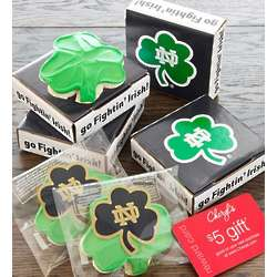 Notre Dame Cookie Greeting Card