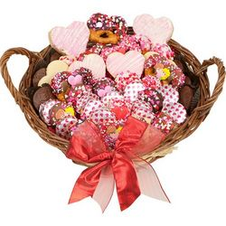 Large Sweetheart Treats Gourmet Gift Basket