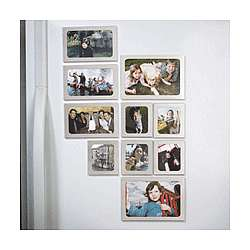 Refrigerator Photo Frame Magnet Set