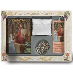Girls Deluxe Italian Communion Set