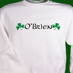 Irish Name Personlized Sweatshirt