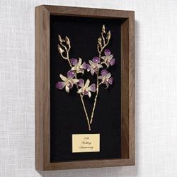 "11"" Orchids of Love Remembrance Box"